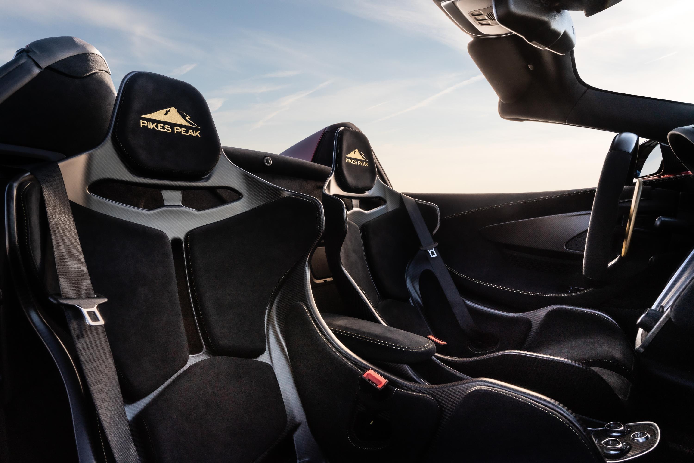 McLaren 600LT Spider Seats