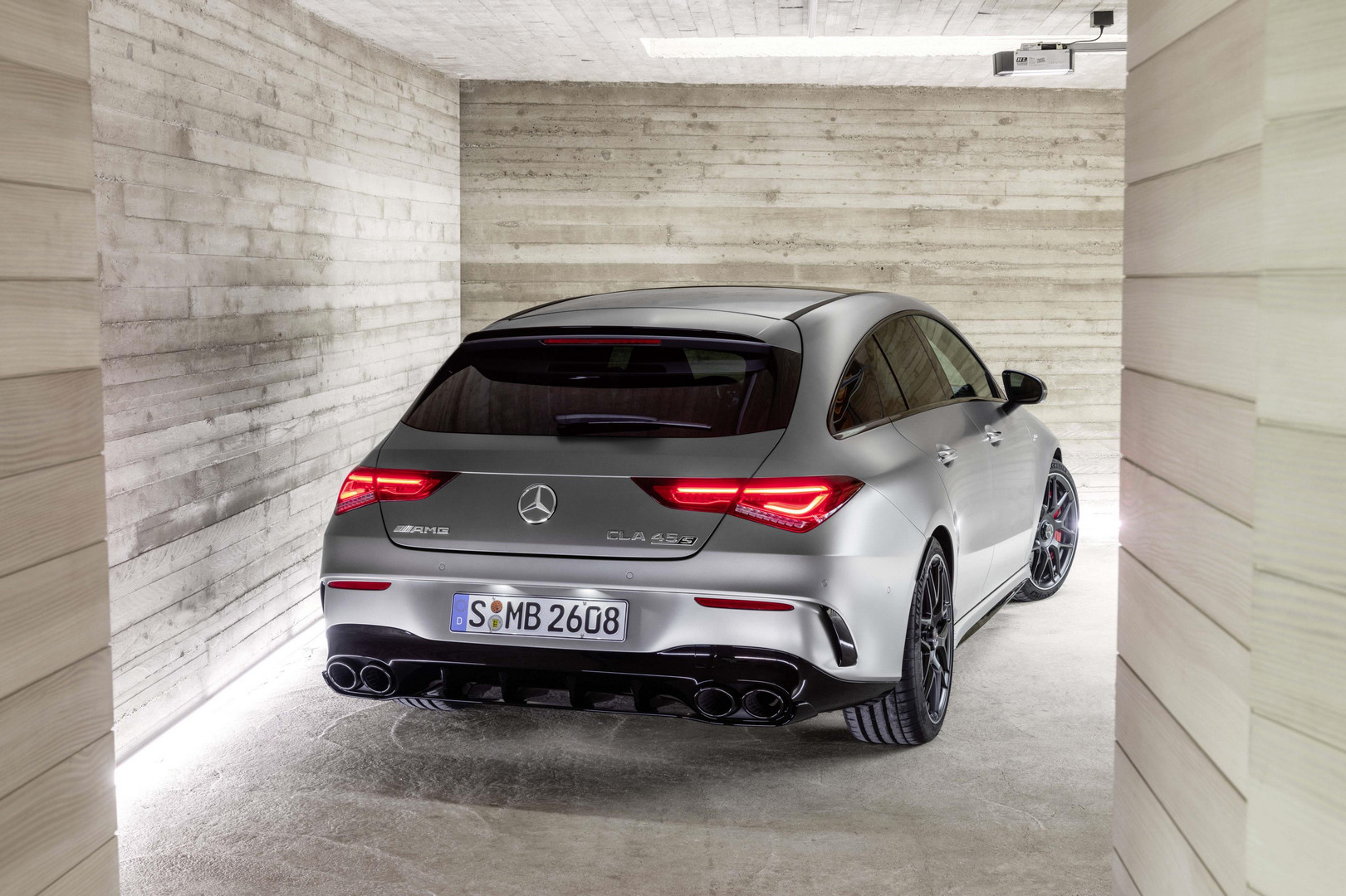 Mercedes-AMG CLA 45 S Shooting Brake Rear View