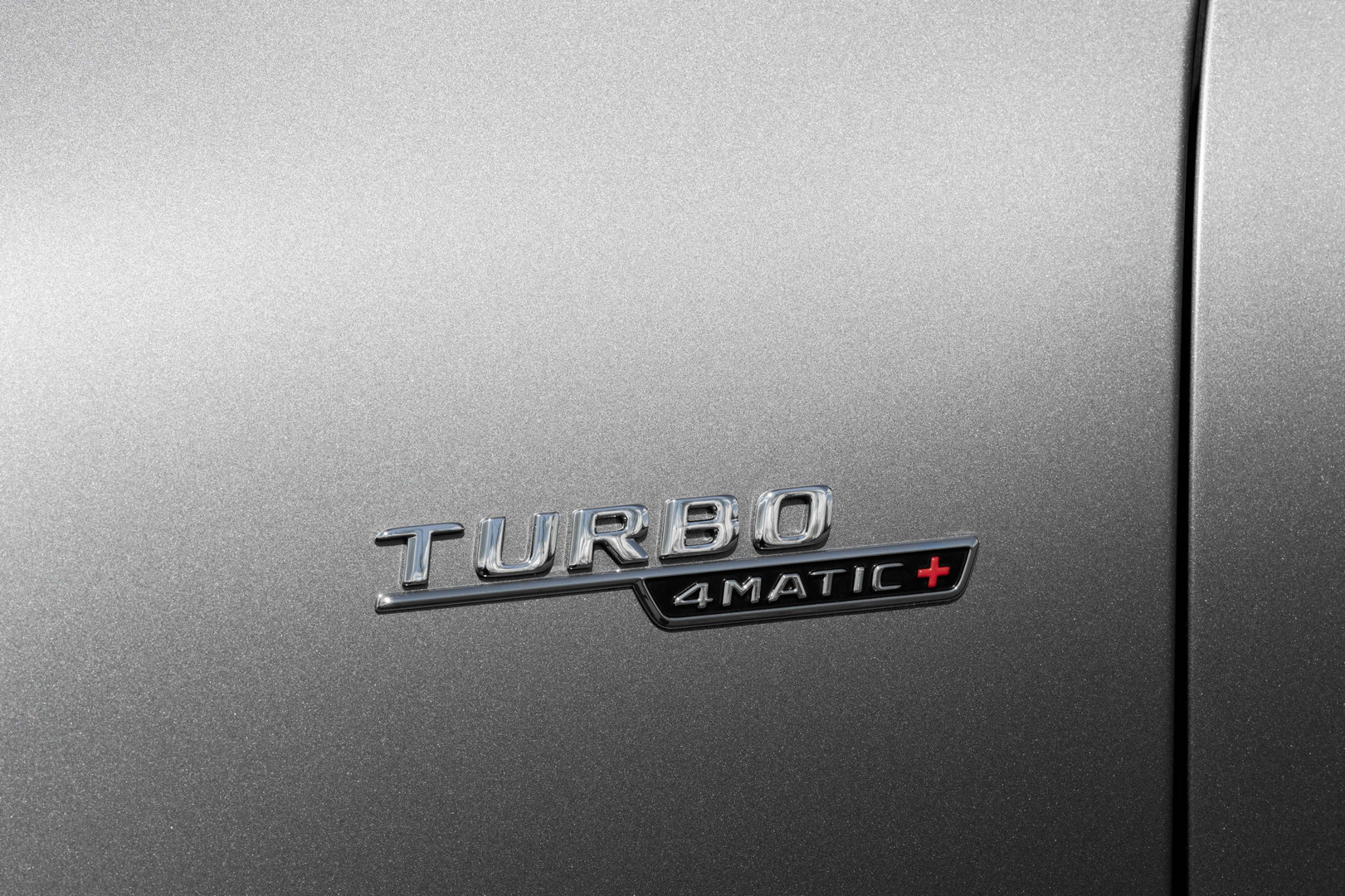 AMG Turbo Badge