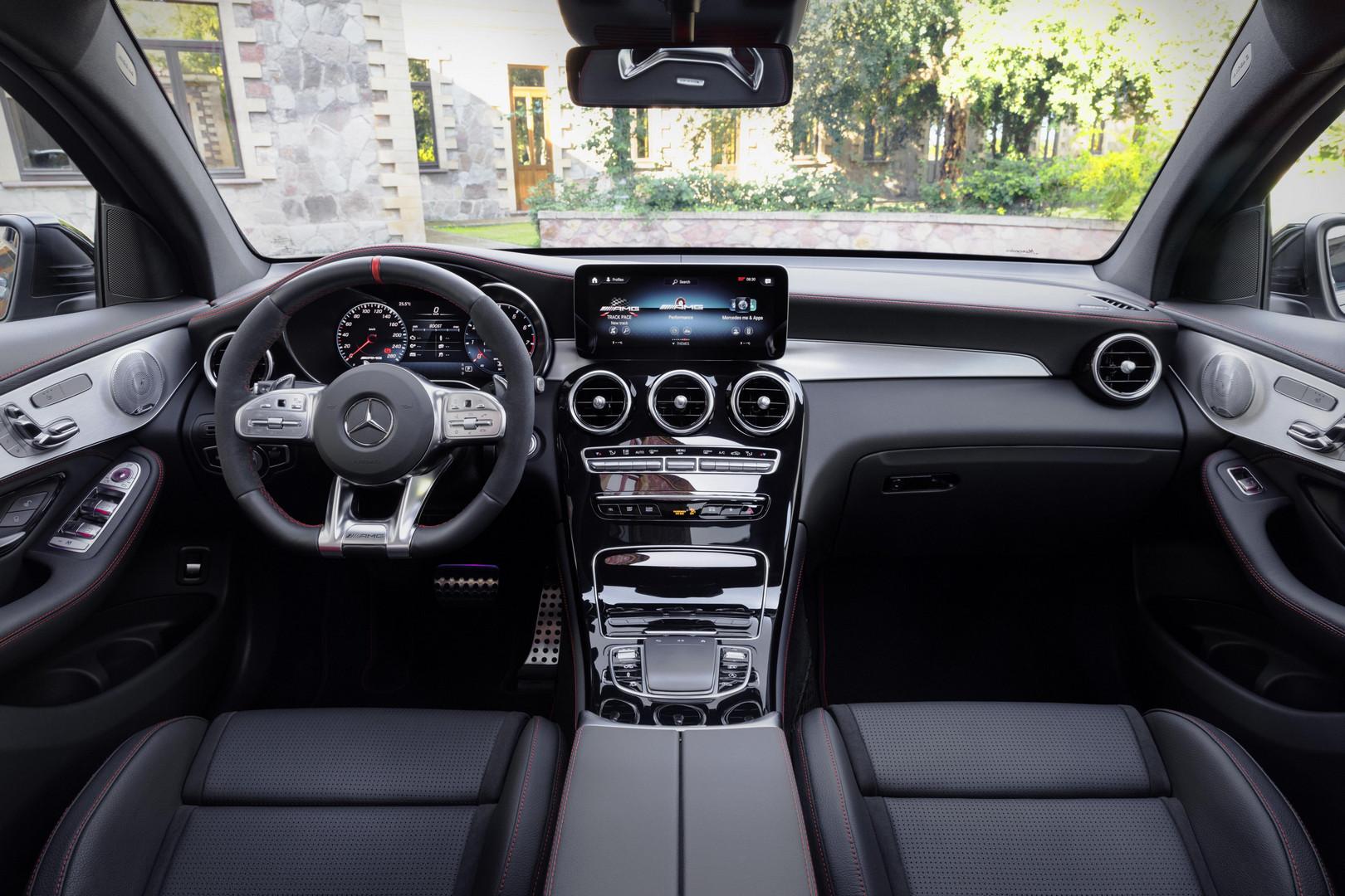 Mercedes-AMG GLC 43 Coupe Steering Wheel