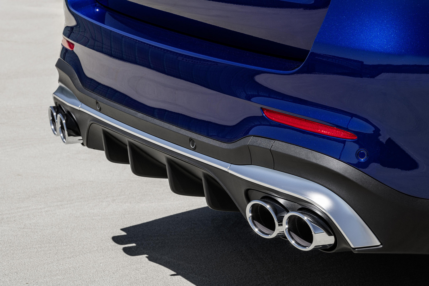 Mercedes-AMG GLC 43 SUV Exhaust Tips