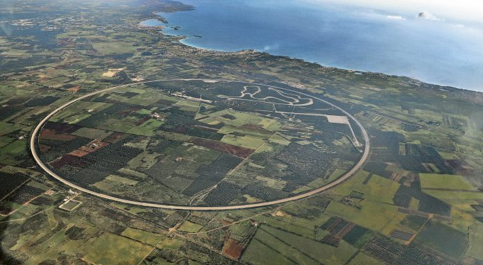 Nardo Ring Aerial View