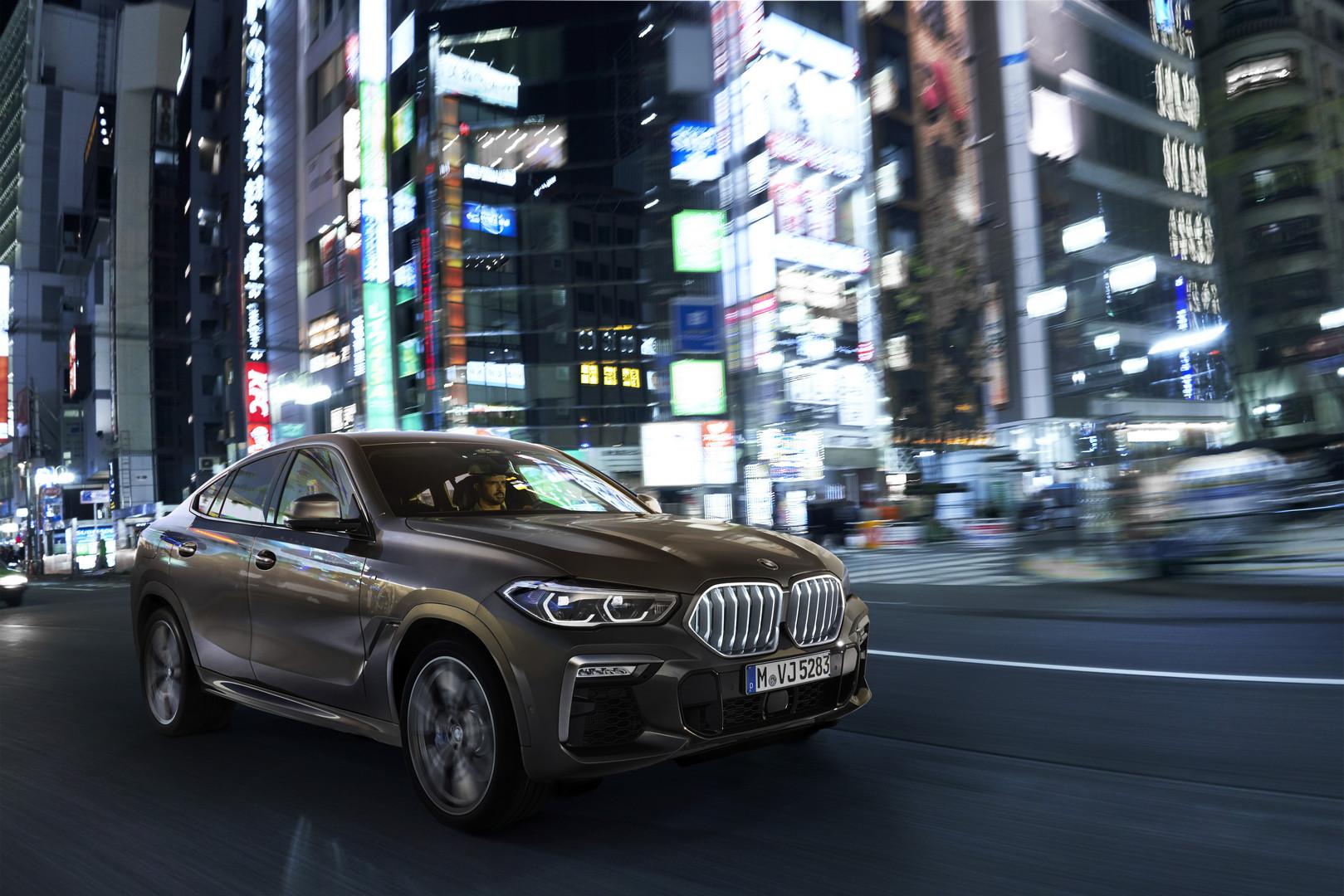 BMW X6 M50i G06