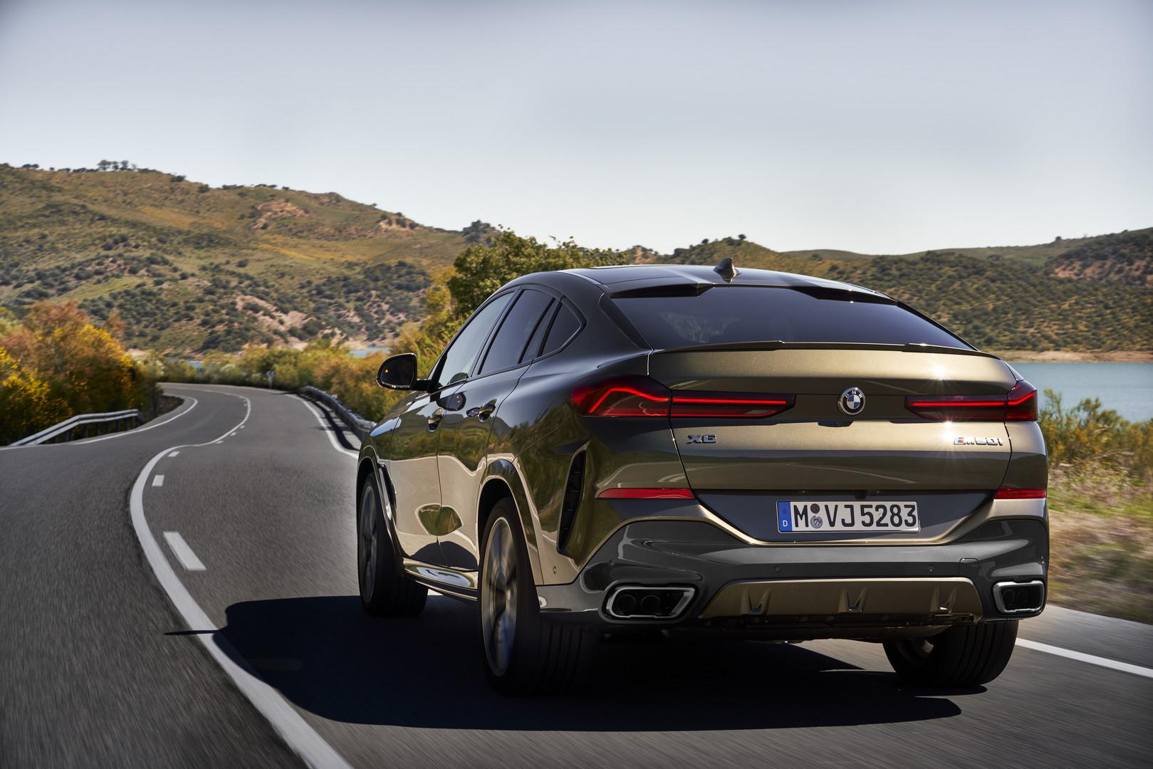 2020 BMW X6 M50i Rear
