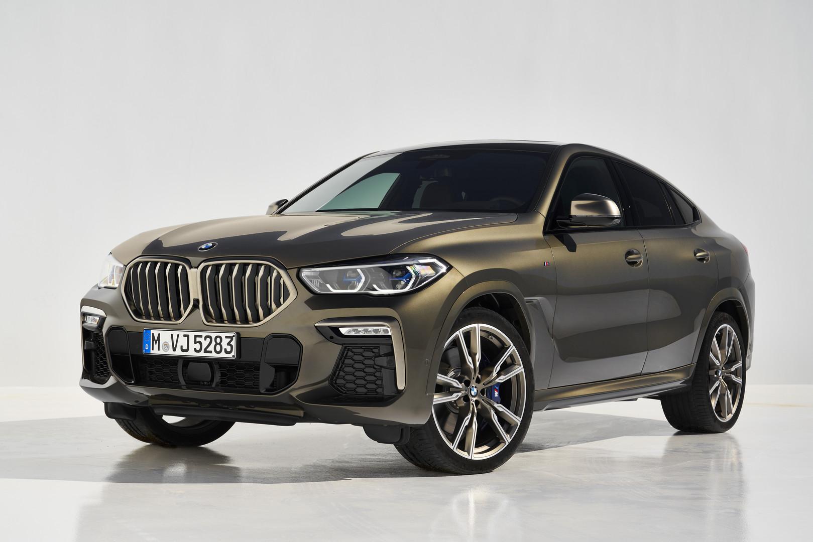 2020 BMW X6 M50i Bronze