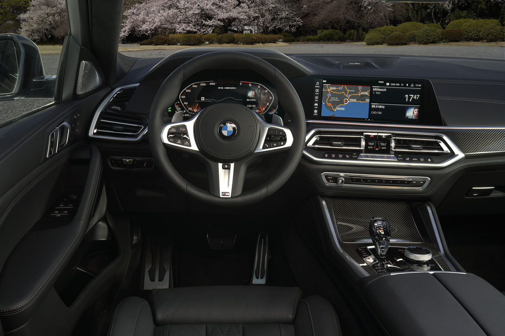 2020 BMW X6 M50i Steering Wheel