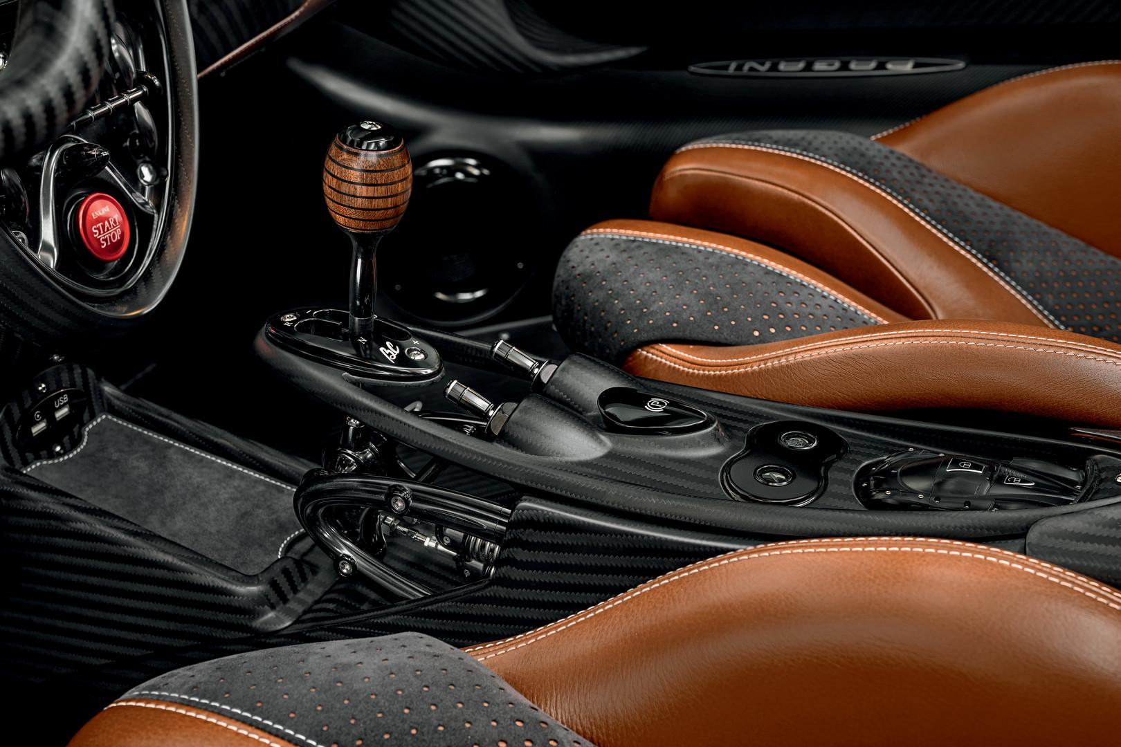 Pagani Huayra BC Roadster Gear Shifter