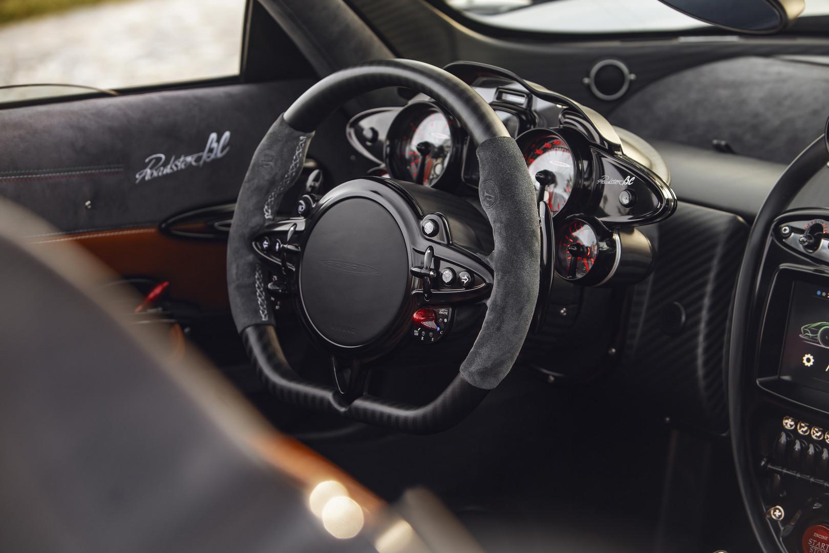 Pagani Huayra BC Roadster Interior