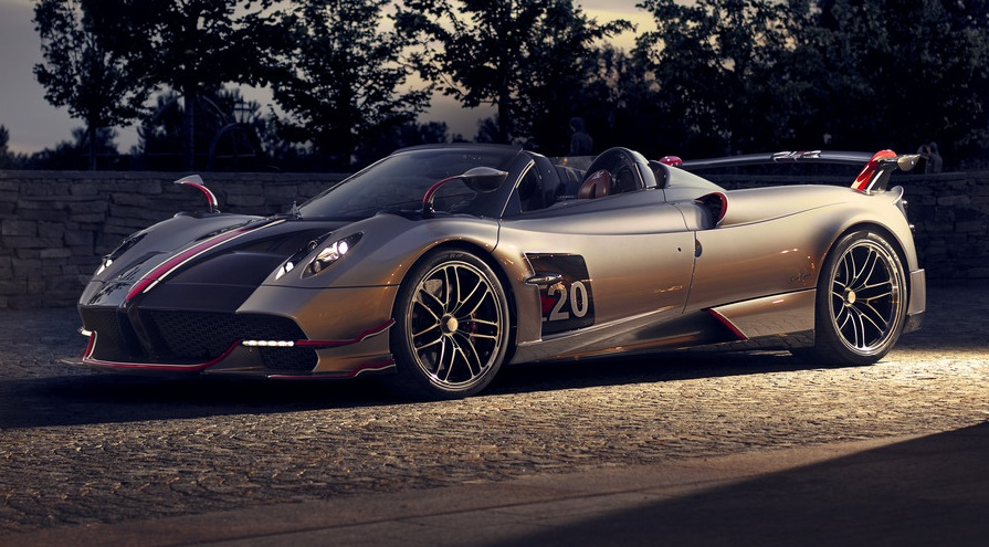 New Pagani Huayra Roadster BC debuts in mobile video game