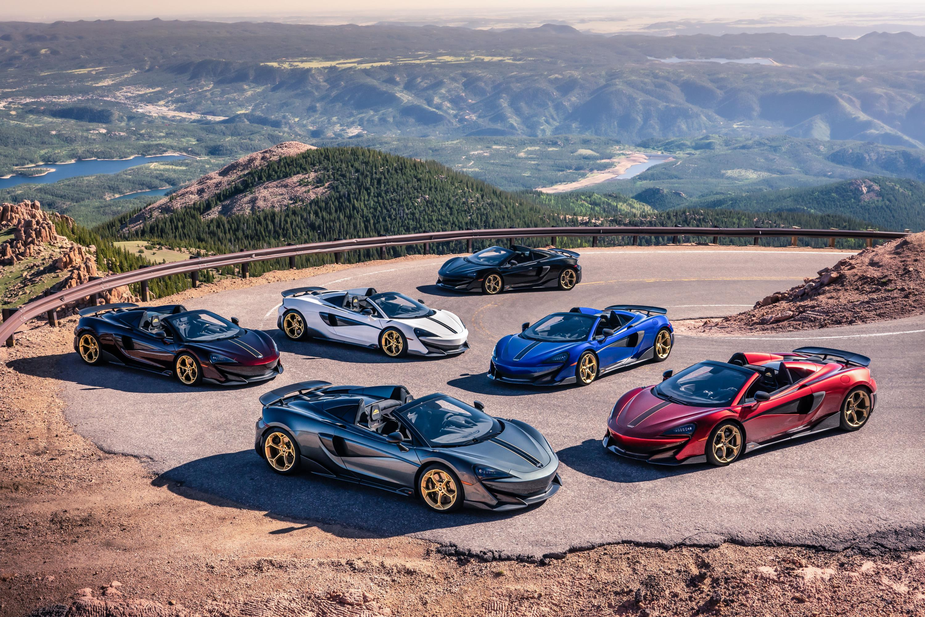 Pikes Peak Collection 600LT Spiders