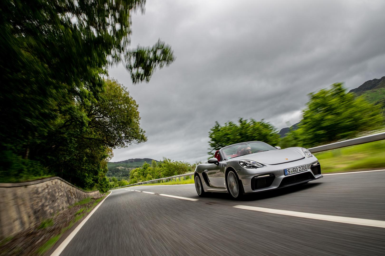 Porsche 718 Spyder Review