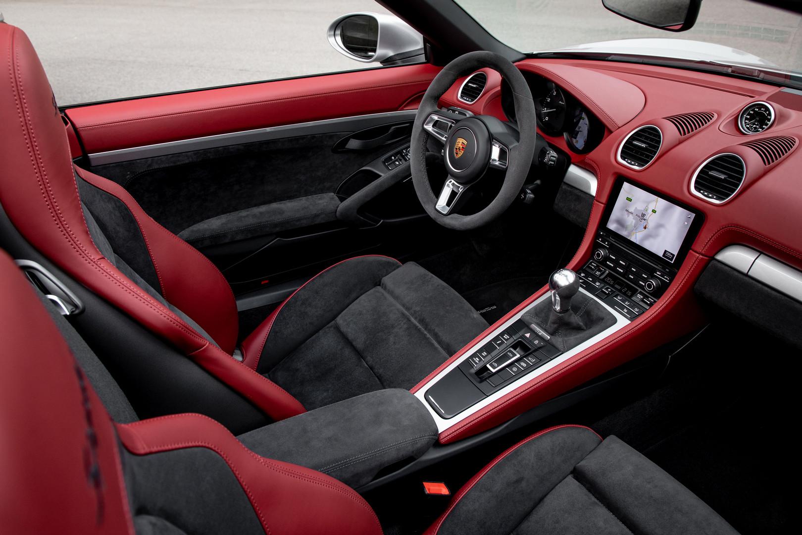 Porsche 718 Spyder Cockpit