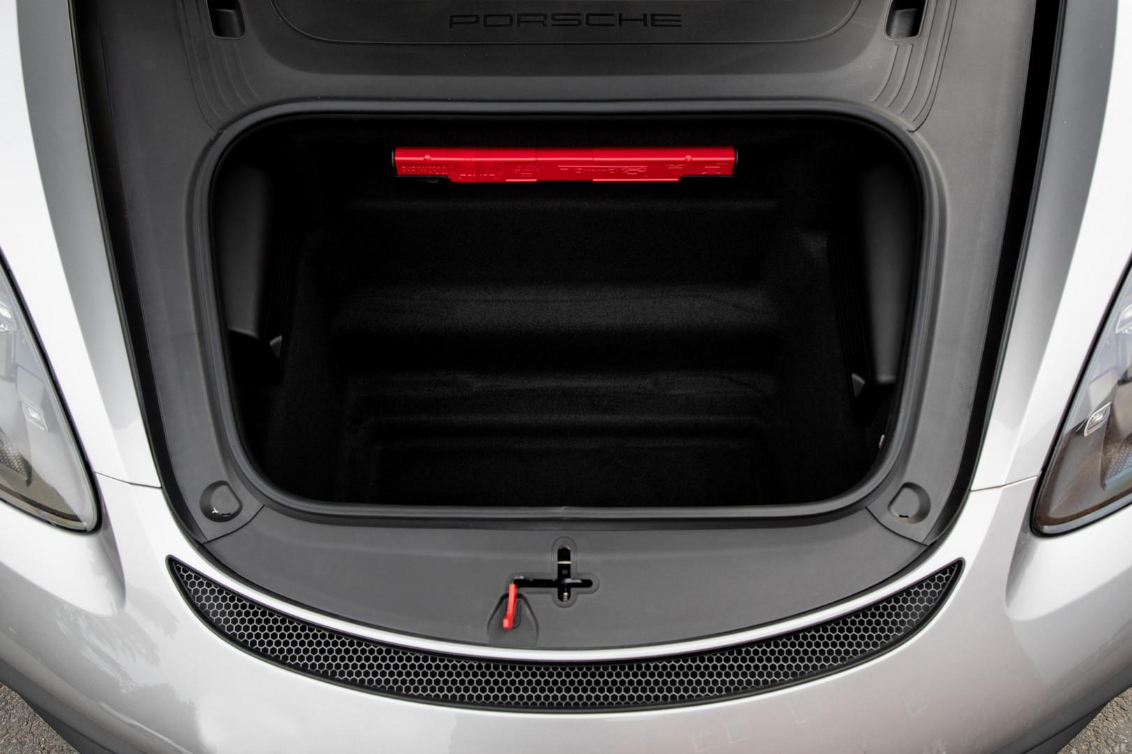 Porsche 718 Spyder Trunk