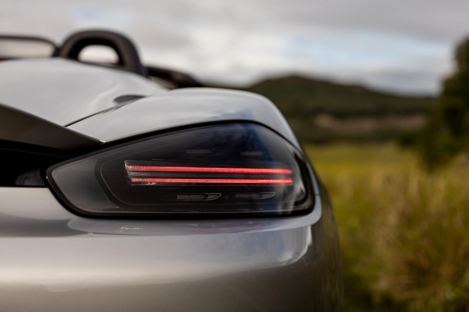 Porsche 718 Spyder Rear Lights