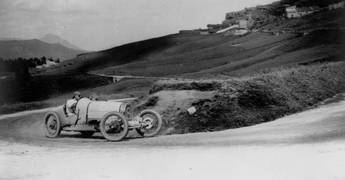 Bugatti Type 35 at the Targa Florio 1925