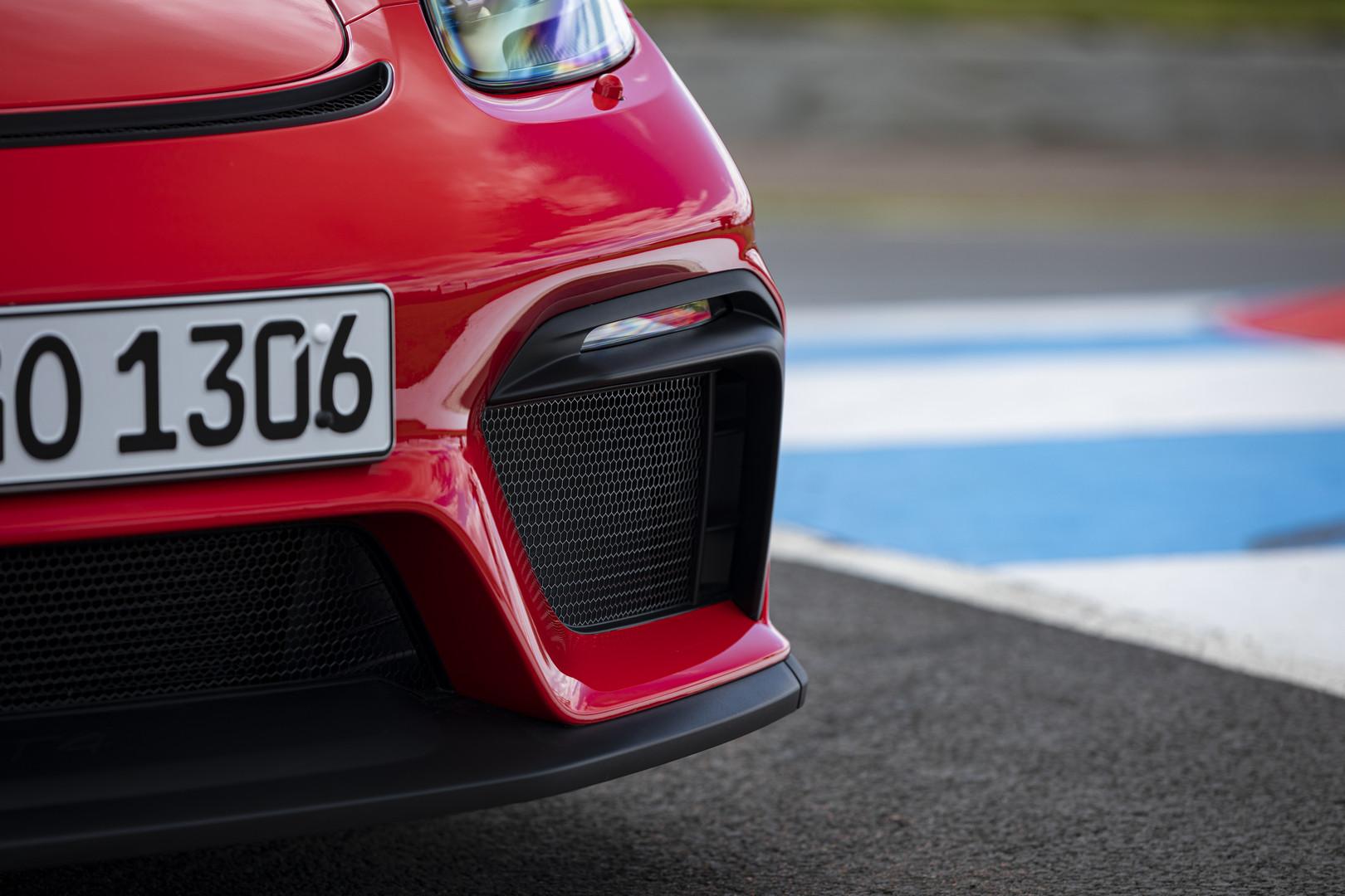 Porsche 718 Cayman GT4 Front Lip