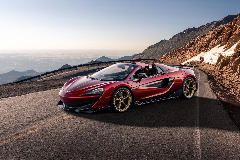 Volcano Red McLaren 600LT Spider