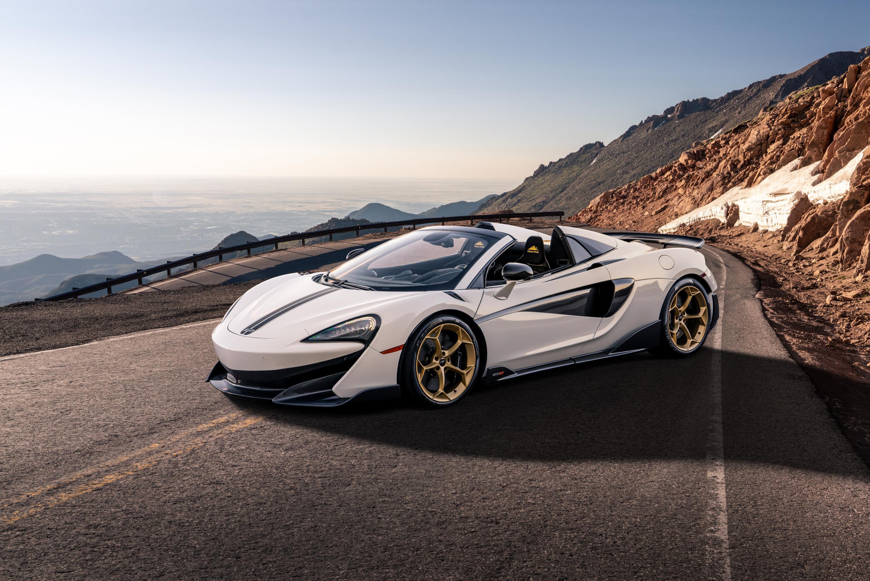 White Gold McLaren 600LT Spider