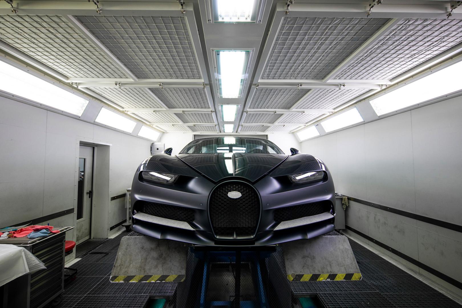 Bugatti Chiron Sport Factory