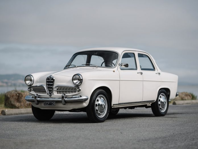 1959 Alfa Romeo Giulietta T.I. Berlina For Sale