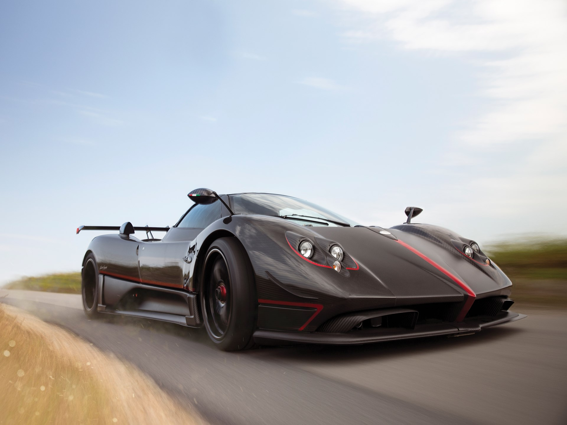 2017 Pagani Zonda Aether Auction