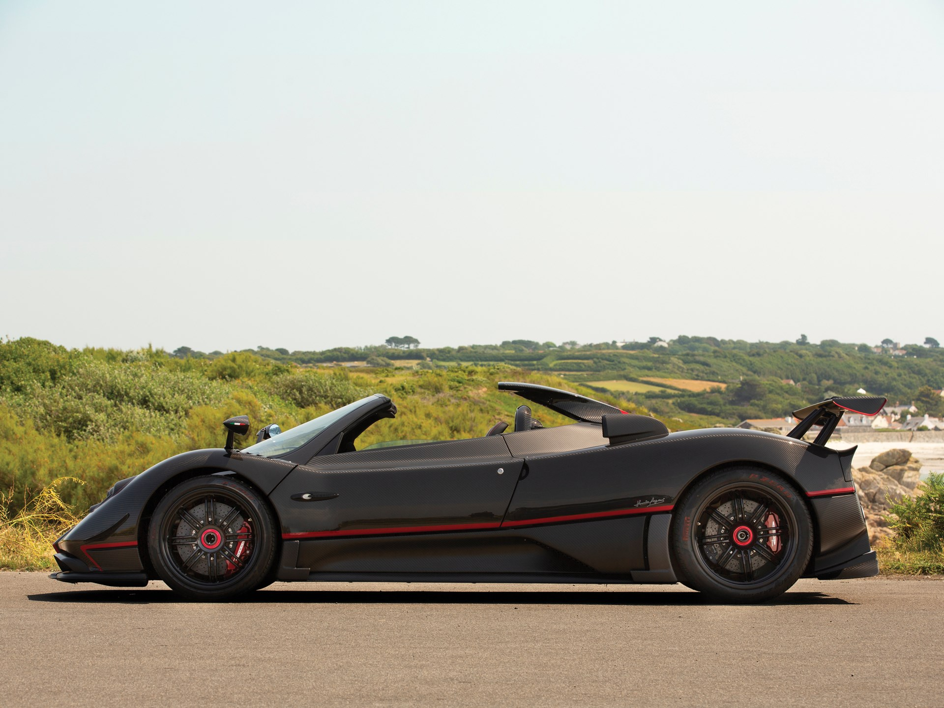2017 Pagani Zonda Aether Side View