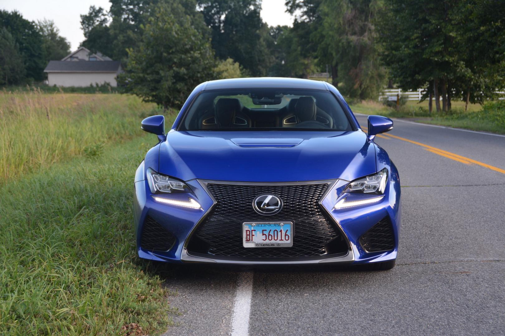 2019 Lexus RC F Front