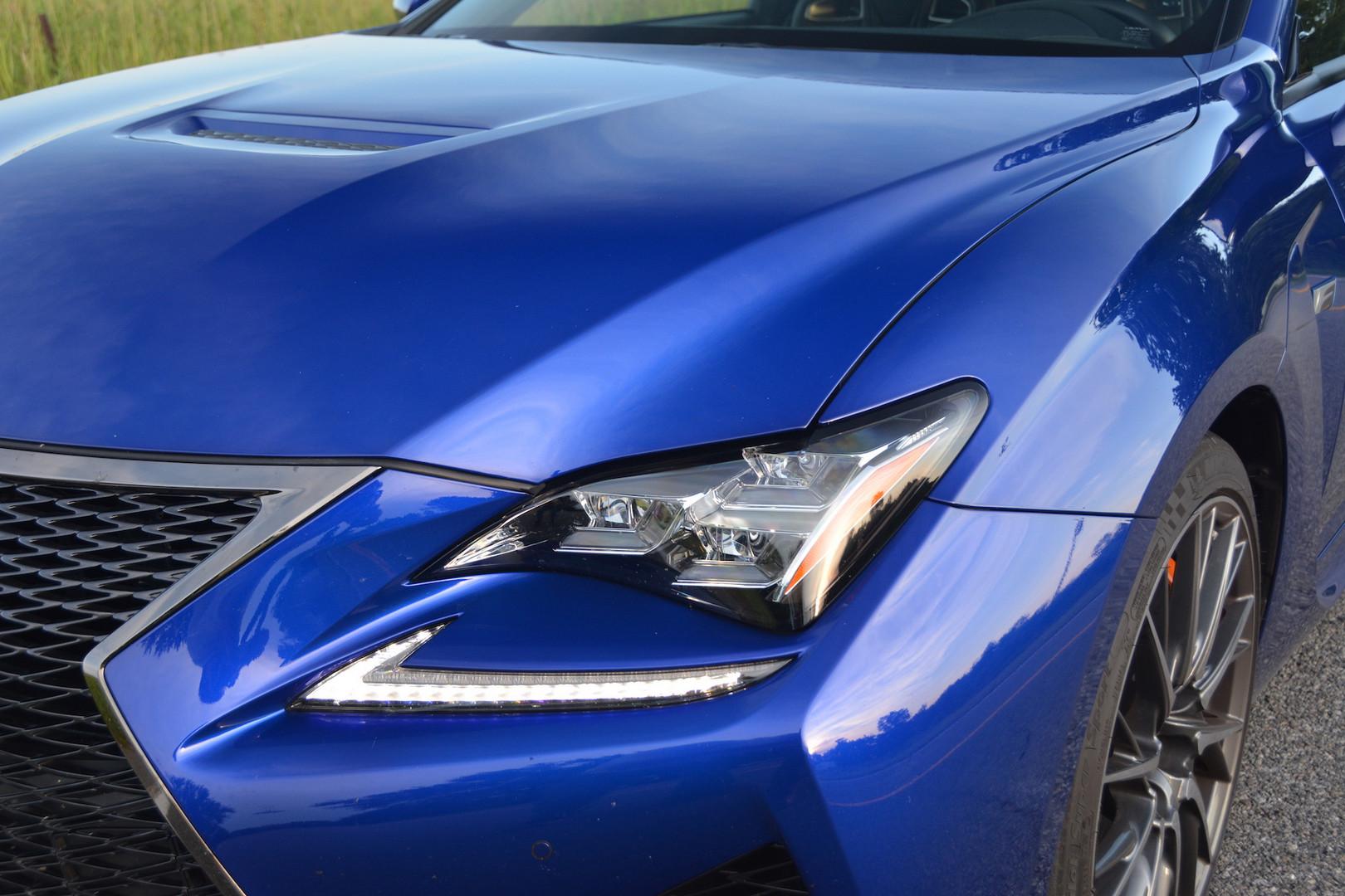 2019 Lexus RC F Headlights