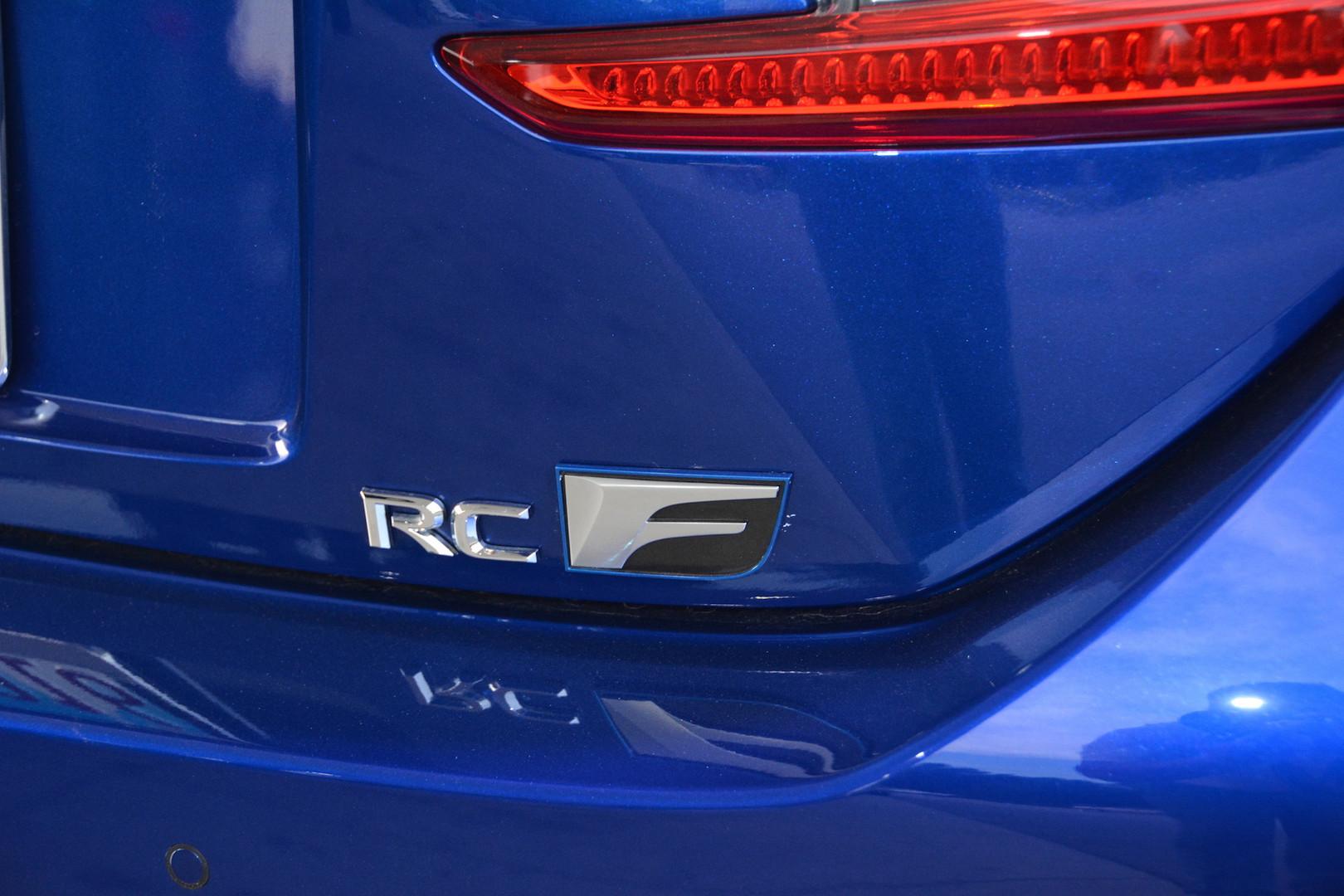 2019 Lexus RC F Logo