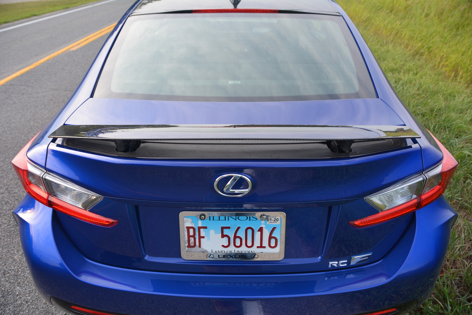2019 Lexus RC F Rear Lights