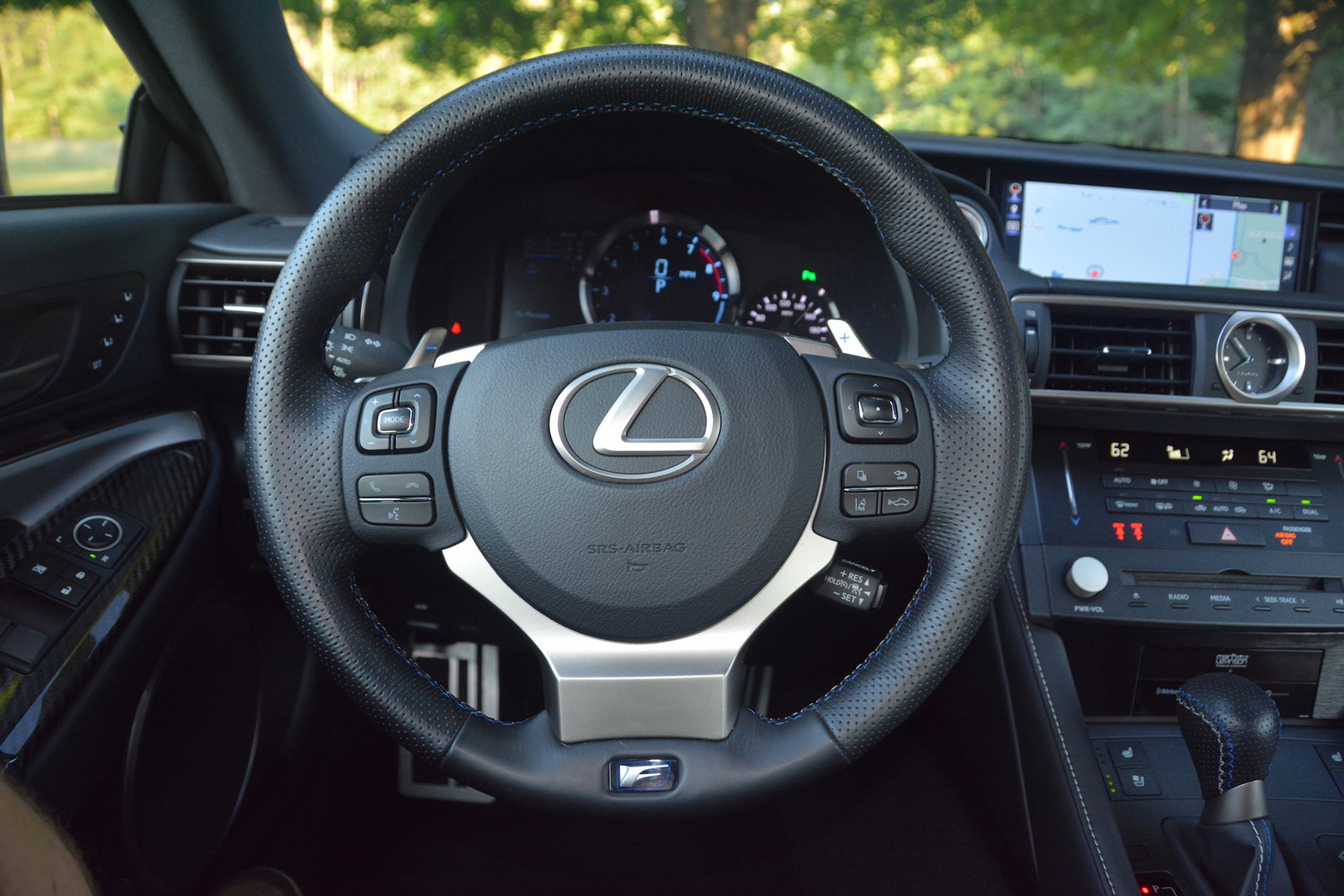 2019 Lexus RC F Steering Wheel