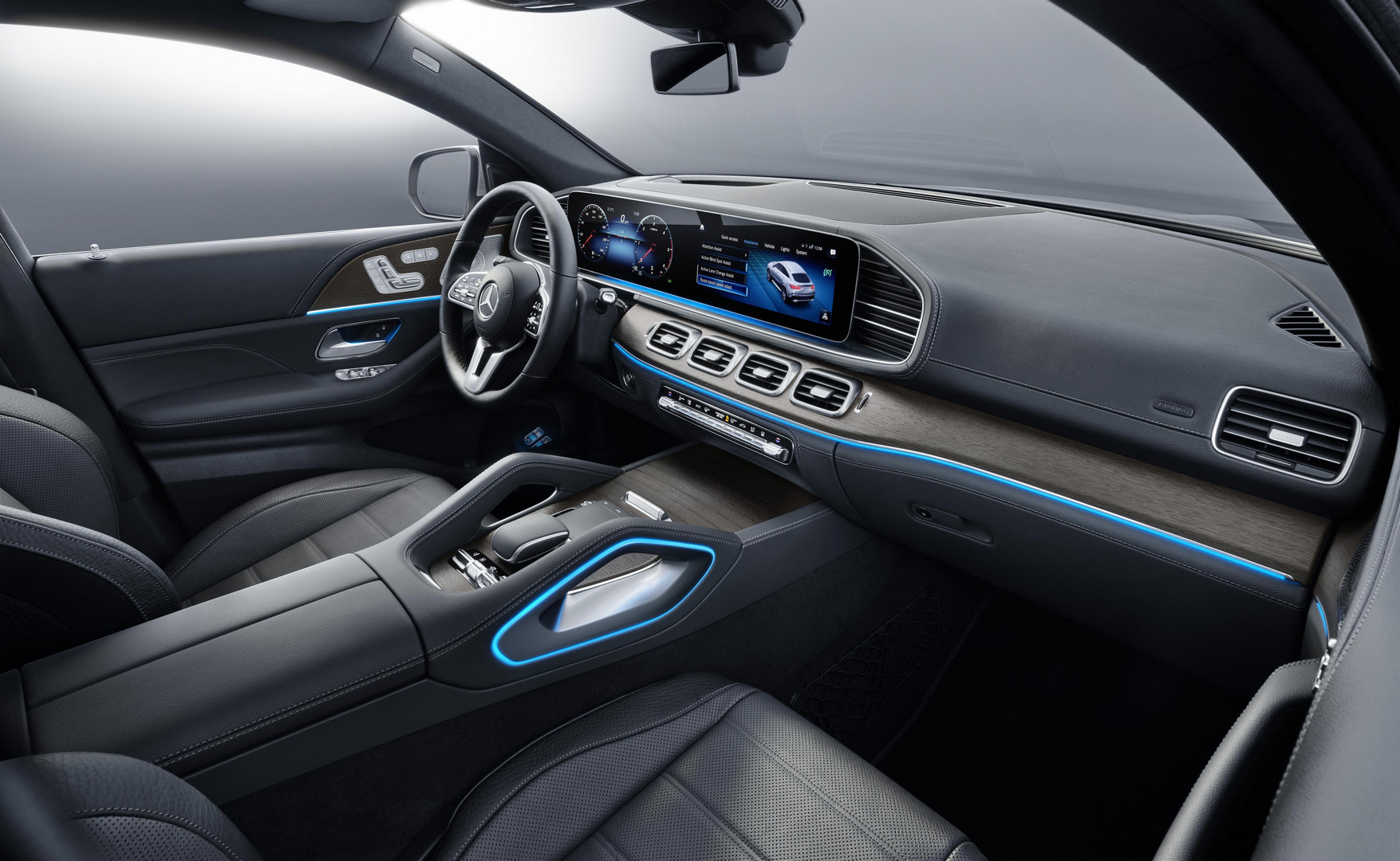 2020 Mercedes-Benz GLE Coupe Dashboard