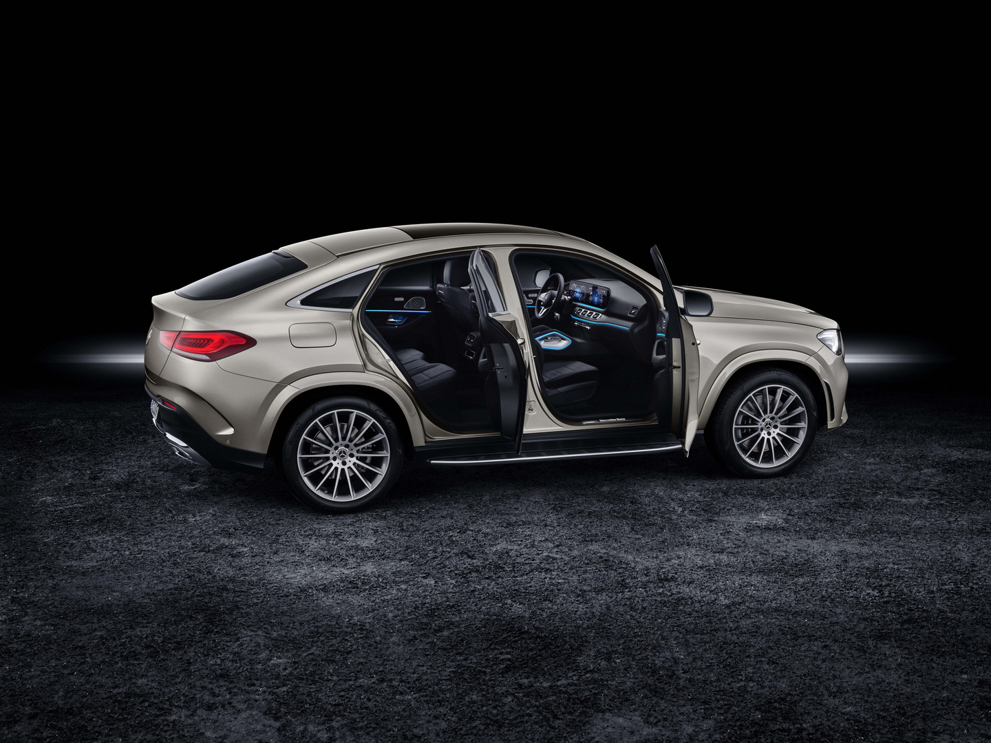 2020 Mercedes-Benz GLE Coupe Doors