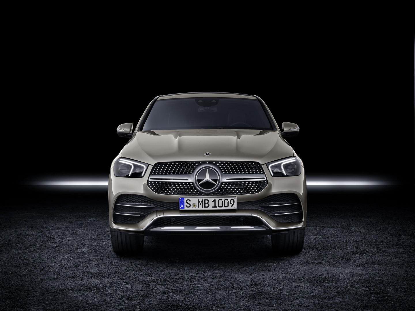 2020 Mercedes-Benz GLE Coupe Front