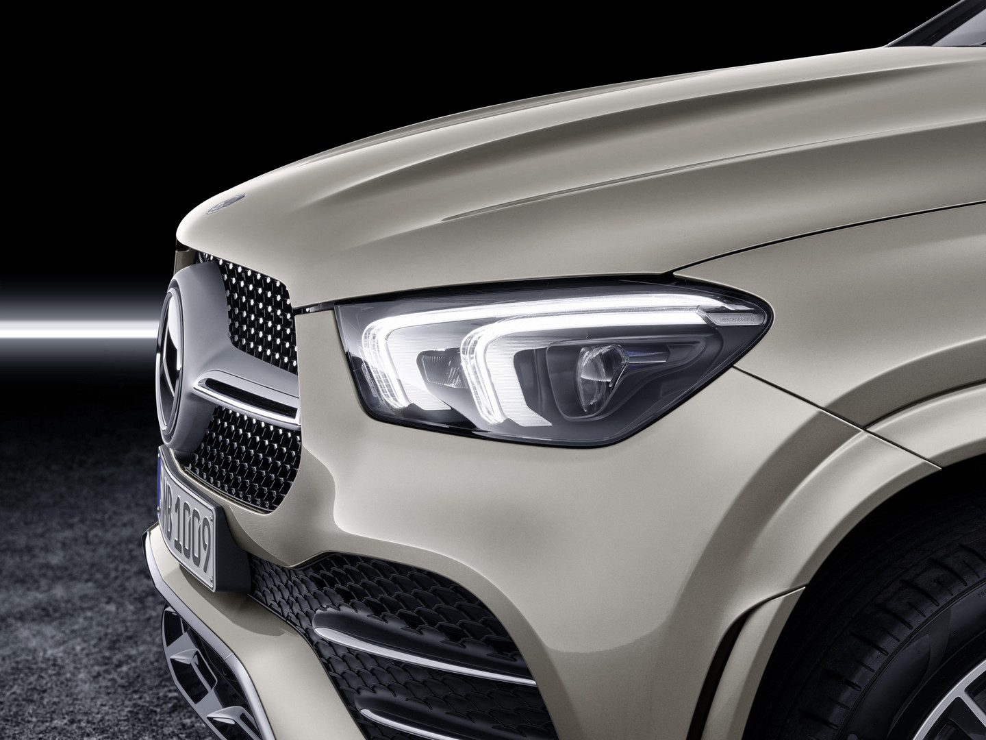 2020 Mercedes-Benz GLE Coupe Headlight
