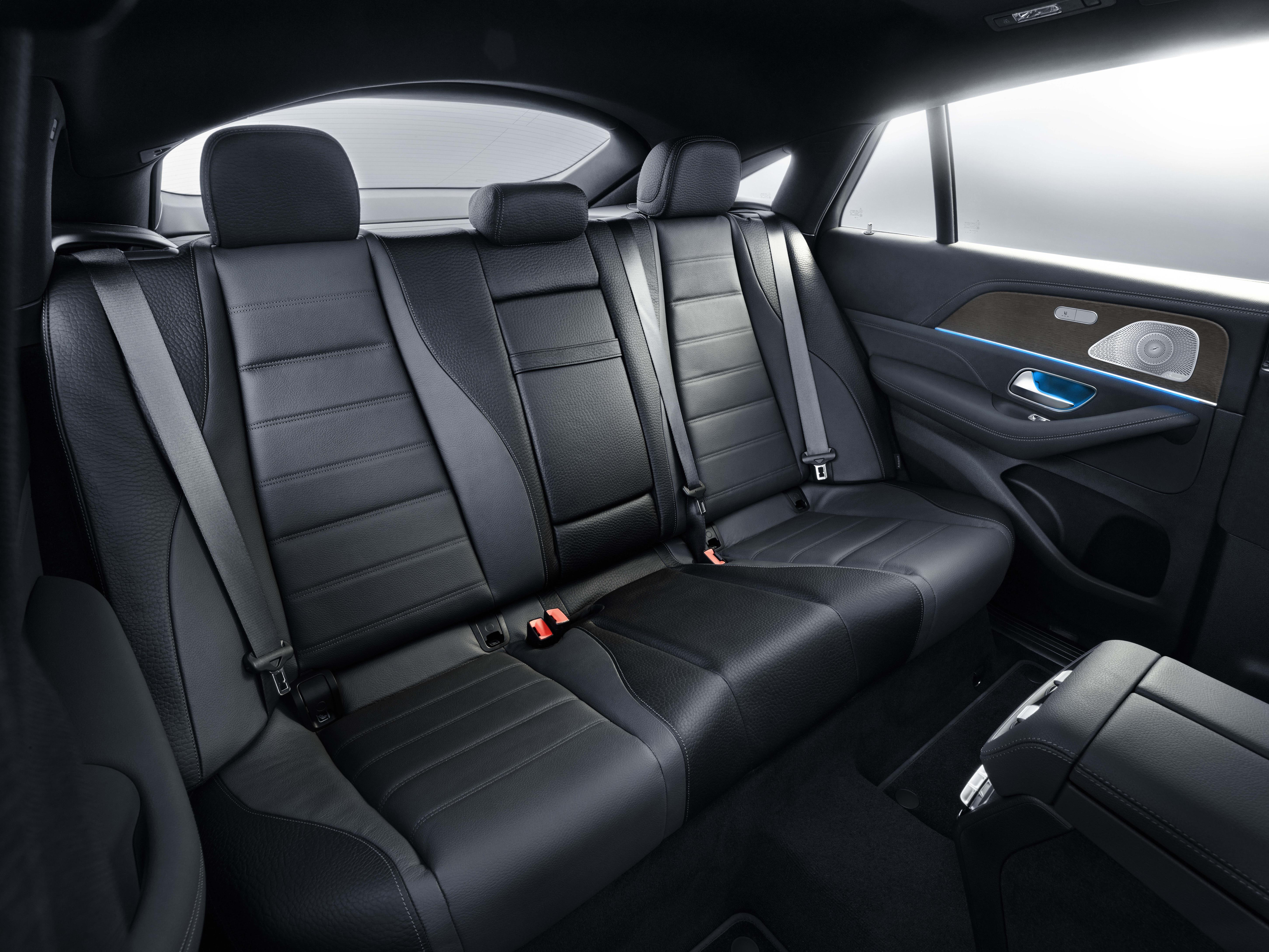 2020 Mercedes-Benz GLE Coupe Rear Seats