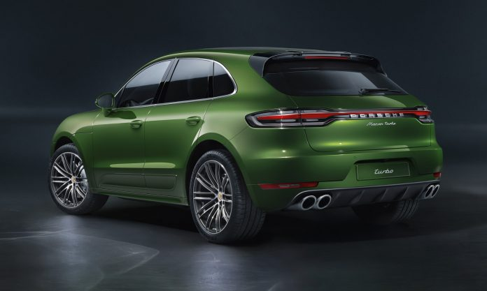 2020 Porsche Macan Turbo Rear
