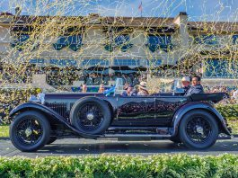 1931 Bentley 8 Litre Gurney Nutting Sports Tourer