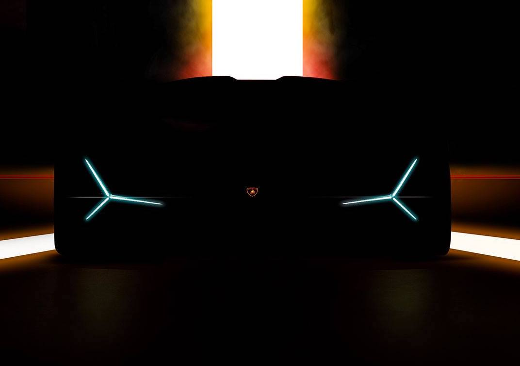 Lamborghini Tease New Model For Frankfurt Motor Show 2019