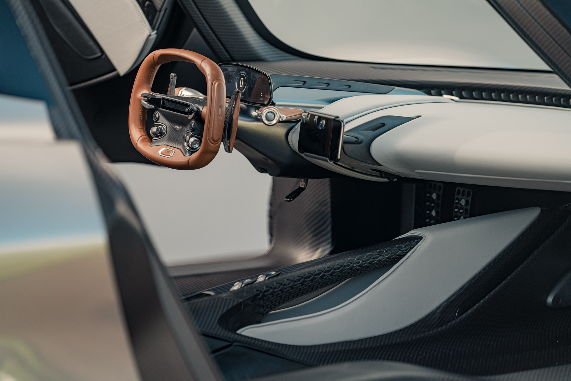 Aston Martin Valhalla Rear Interior