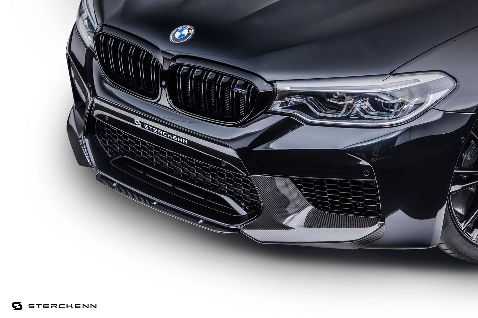 BMW M5 Black Grille