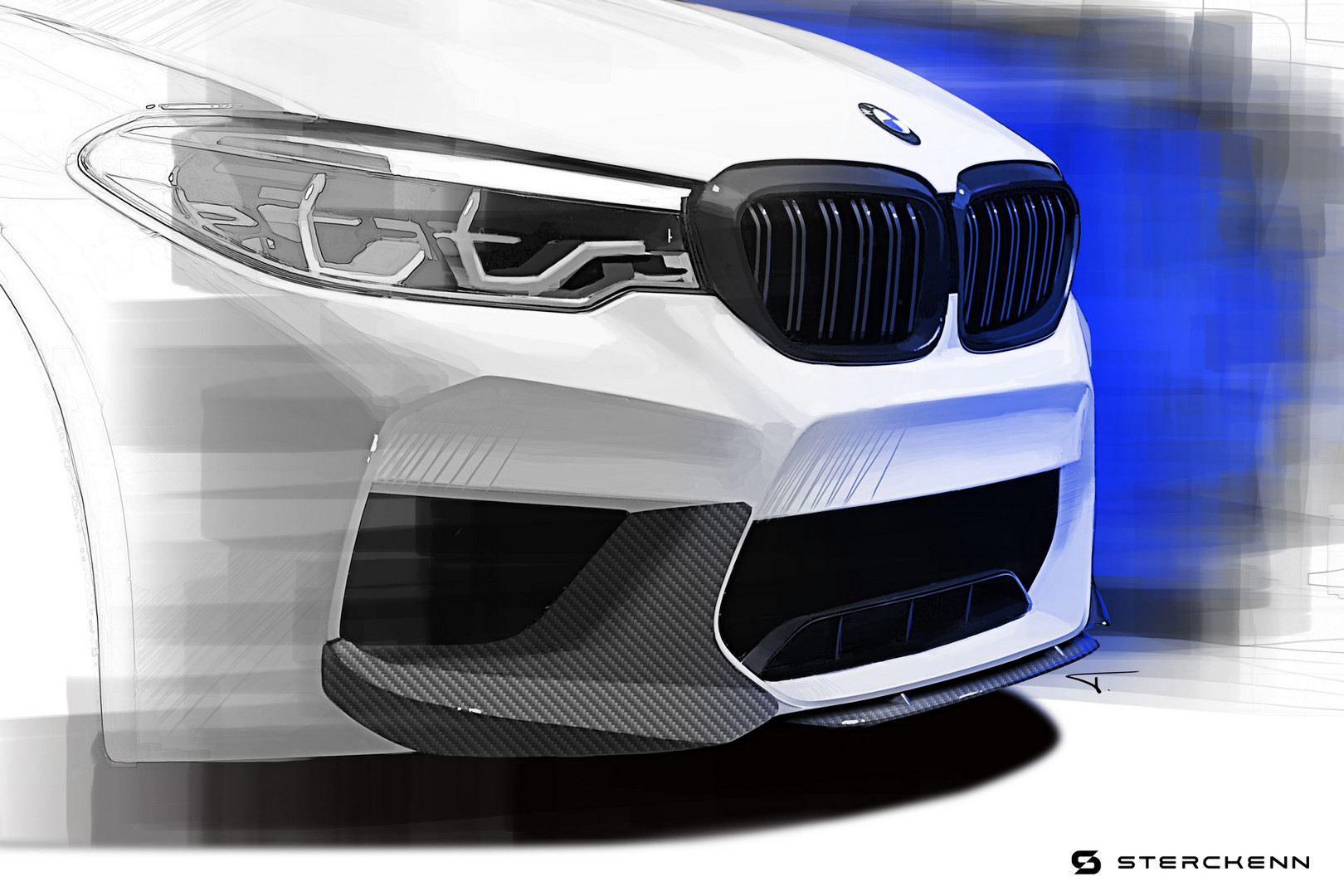 BMW M5 Face