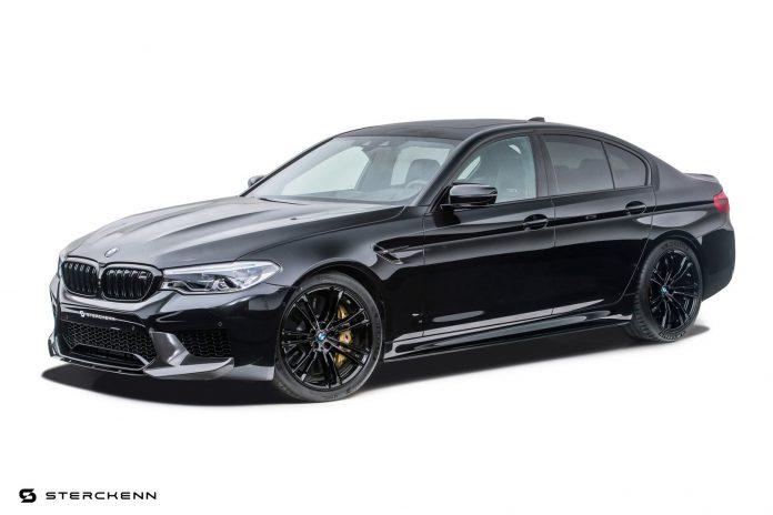 BMW M5 Side View