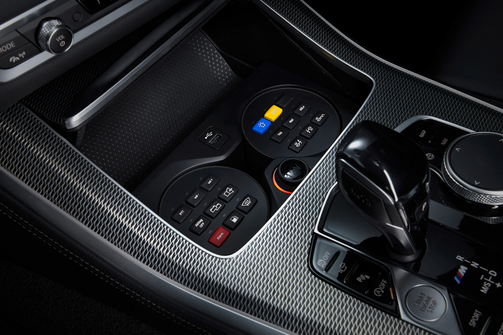 BMW X5 Protection VR6 Controls