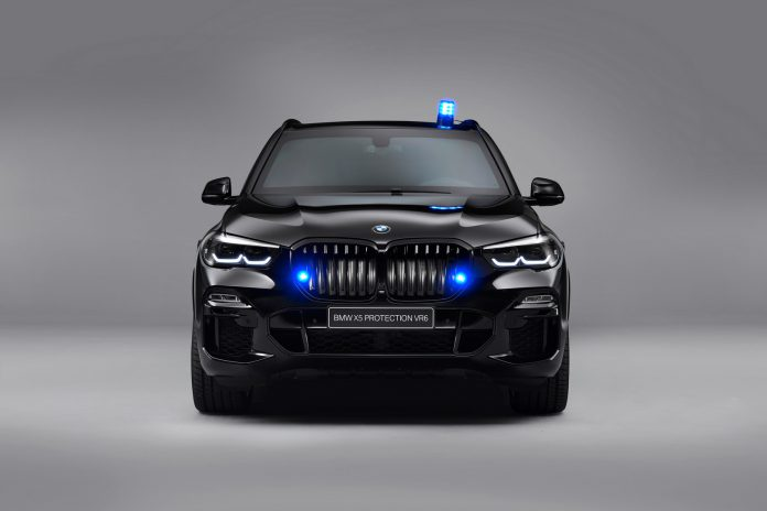 BMW X5 Protection VR6 Grille Sirens