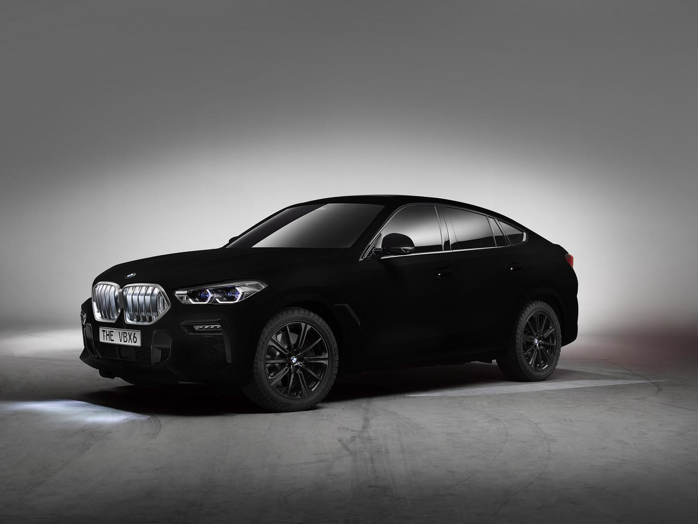 BMW X6 Vantablack Price