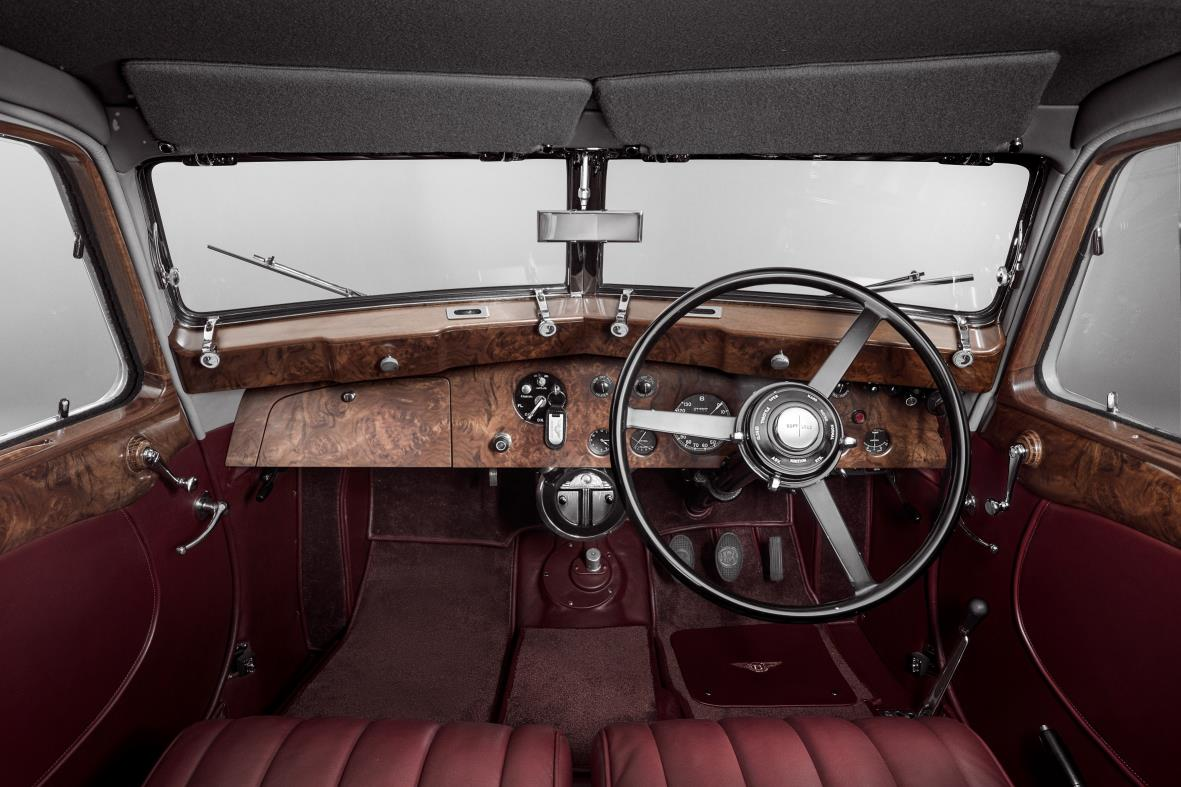 Bentley Corniche Interior