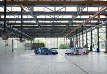 Bugatti La Fabbrica Blu Campogalliano EB 110 Super Sport