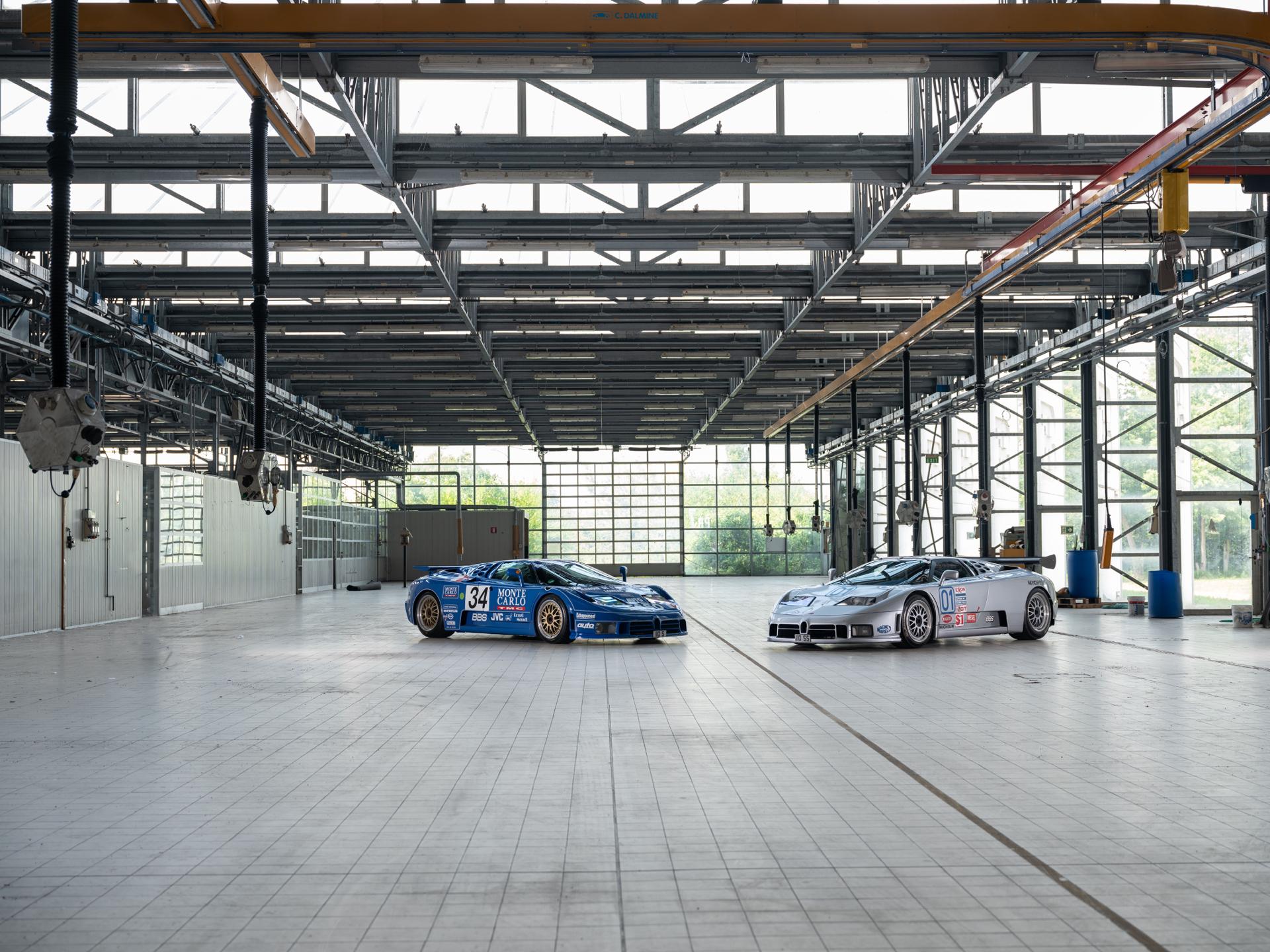 Inside Bugatti Automobili 'La Fabbrica Blu' in Campogalliano