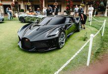 Bugatti LaVoiture Noire Front